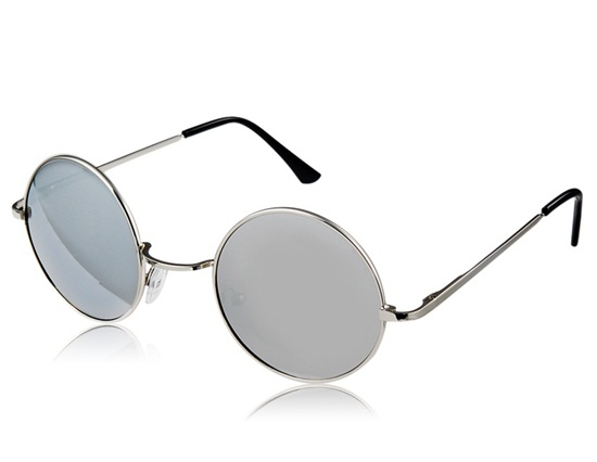 Kadishu 8501 Men's UV Protective Sunglasses (Silver)
