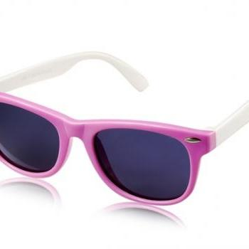 802-C11 Children's Plastic Sunglasses (Purple)